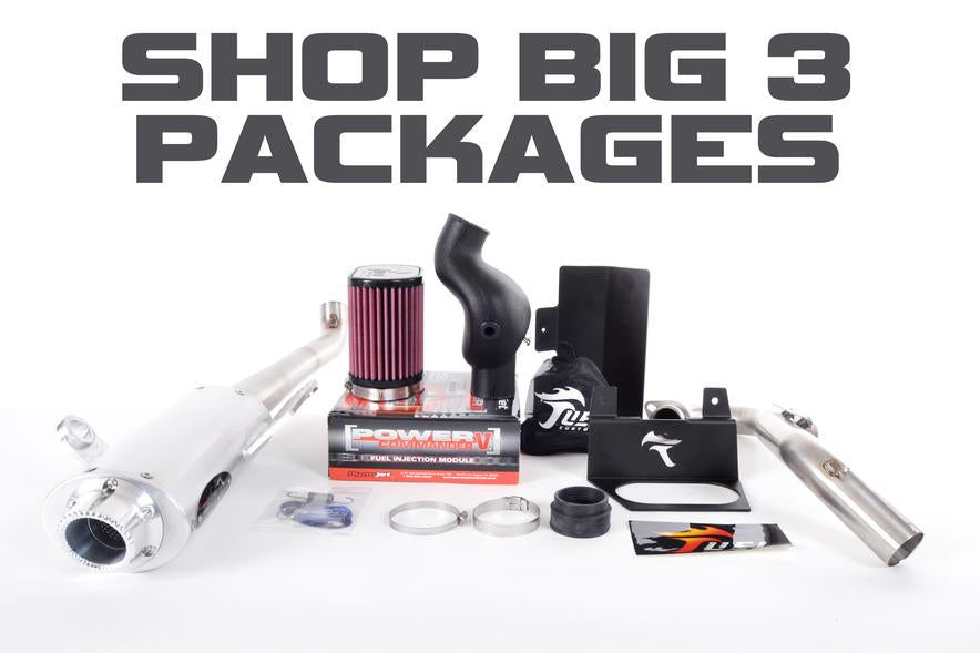 Save Money with Big 3 Exhaust Packages