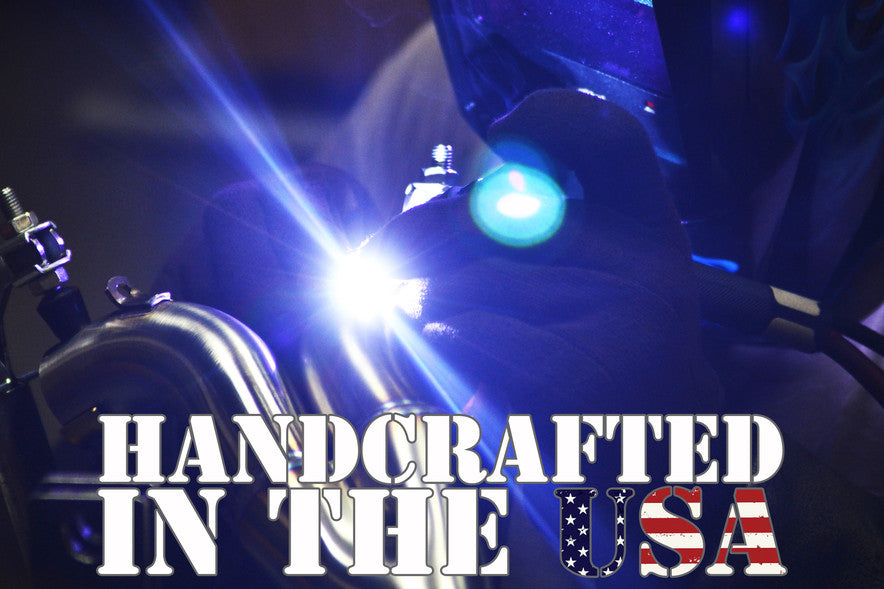 Barker's Performance Exhaust Systems are hand crafted in the United States