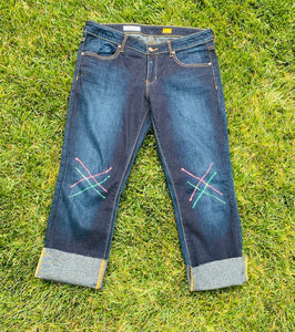 Upcycled Pilcro Jeans