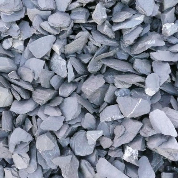 Charcoal Grey Slate 40mm Bulk Bag