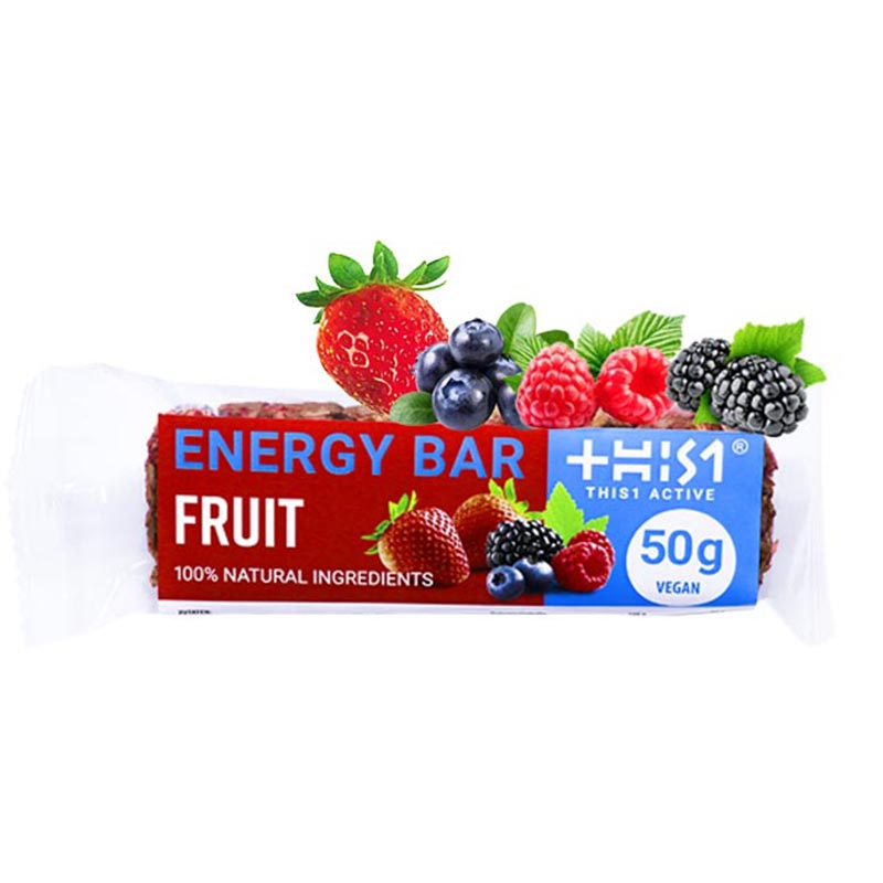 FRUCHT RIEGEL VEGAN 50G - THIS1 NUTRITION