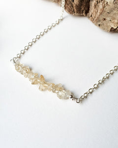 Citrine Chip Necklace