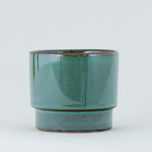 Glazed Pot - Teal