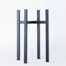 Load image into Gallery viewer, Black Metal Plant Pot Stand