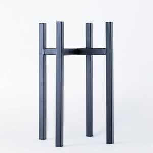 Black Metal Plant Pot Stand