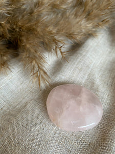 Rose Quartz Palmstone