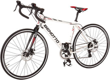 Load image into Gallery viewer, Benotto Ruta 850 2X7 speed road bicycle Shimano Disc Brake Aluminum 700c