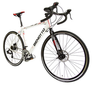 Benotto Ruta 850 2X7 speed road bicycle Shimano Disc Brake Aluminum 700c