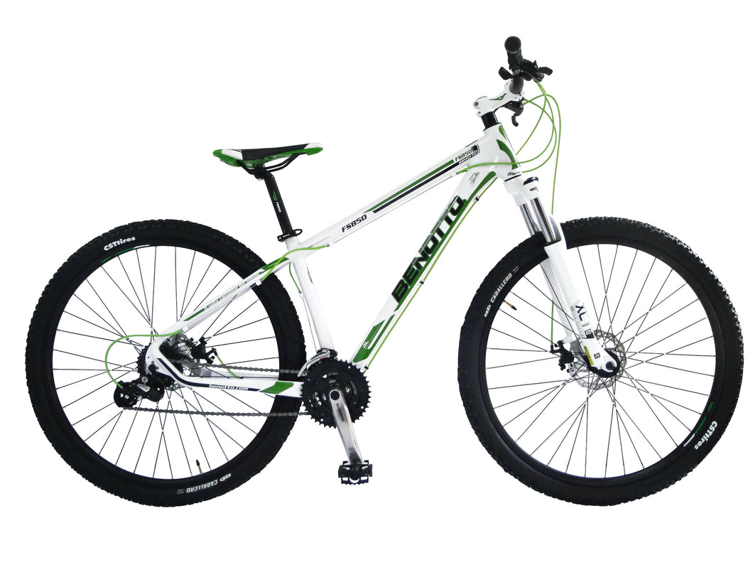 Benotto FS-850 29 inch Front Suspension Mountain Bike Shimano Disc 29er