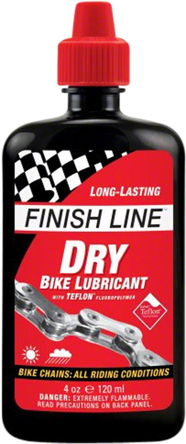 FINISH LINE DRY LUBRICANT 4oz Bike Chain Lube