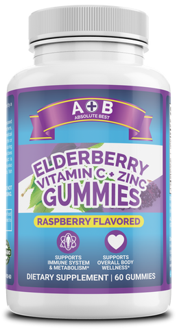 Elderberry Gummies Vitamin C & Zinc