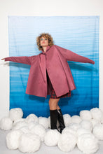 Load image into Gallery viewer, Complice 80's pink nylon cape coat