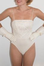Load image into Gallery viewer, David Fielden 90's Bodysuit in Pearl White