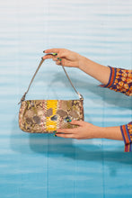 Load image into Gallery viewer, Fendi baguette lizard handbag