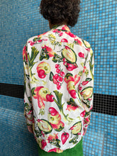 Load image into Gallery viewer, Naf Naf 80's cotton shirt with vegetable print