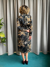 Load image into Gallery viewer, Handmade Kimono-inspired silk dress