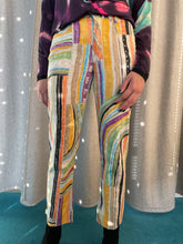 Load image into Gallery viewer, 90's Krizia Jeans multicolor striped pants