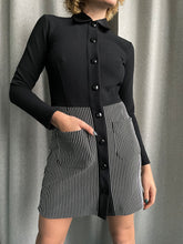 Load image into Gallery viewer, Byblos 90's button down stretchy dress