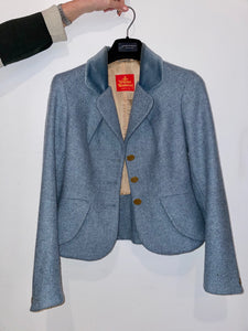 Vivienne Westwood red label 90's wool mini skirt suit