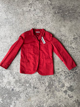 Load image into Gallery viewer, Jil Sander Y2K deastock nylon red single breasted jacket