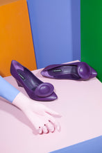 Load image into Gallery viewer, Jil Sander Early 2000's Tulip Wedges in Purple