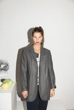 Load image into Gallery viewer, Lawrence Steele 90's Oversized Gray Coat