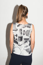 Load image into Gallery viewer, Issey Miyake 90s Pleated Sleeveless Blouse