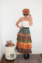 Load image into Gallery viewer, No Label Vintage maxi skirt