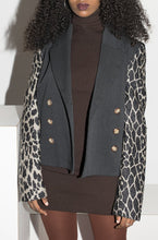 Load image into Gallery viewer, Ozbek 80's Leopard Jacket