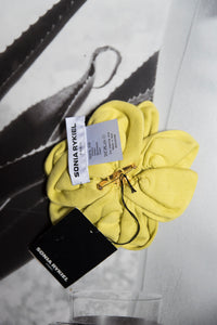 Sonia Rykiel 90's Yellow Flower Broche