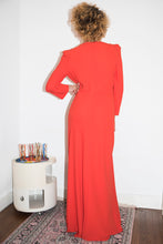 Load image into Gallery viewer, Sonia Rykiel early 2000's red cocktail dress