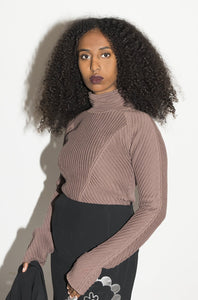 Stella McCartney Y2K Knitted Turtleneck Top
