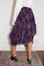 Load image into Gallery viewer, Vivienne Westwood early 2000's purple draped skirt