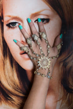 Load image into Gallery viewer, Fantasy Henna-Inspired Golden Bracelet