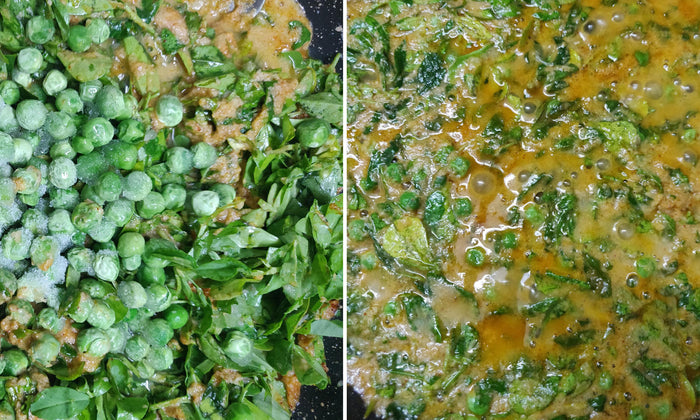 Methi Malai Matar - Let's Cook the Classic!