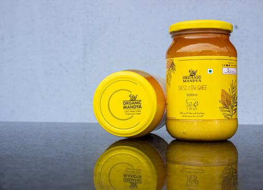 Desi Cow Ghee (500 ML)