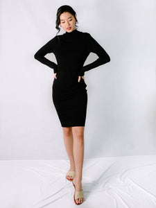 Andi dress black front