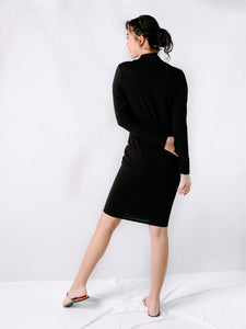Andi dress black back