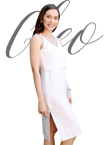 Cleo white cover