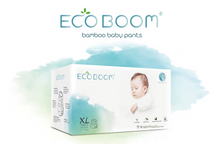 Load image into Gallery viewer, Eco Boom Biodegradable Bamboo Diapers