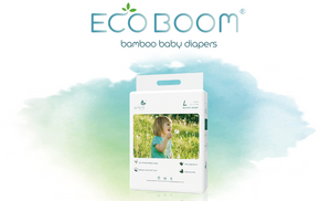 Eco Boom Biodegradable Bamboo Diapers