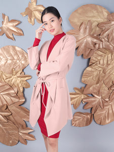 Lulu coat blush 1
