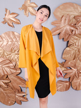 Load image into Gallery viewer, Lulu coat mustard 1