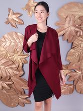 Load image into Gallery viewer, Lulu coat maroon 3