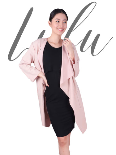 Lulu coat blush cover