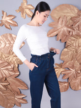 Load image into Gallery viewer, High Waist Momma Jeans details