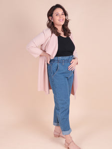 Momma Jeans blue denim 1