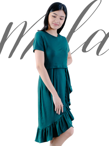 Mila midnight green cover
