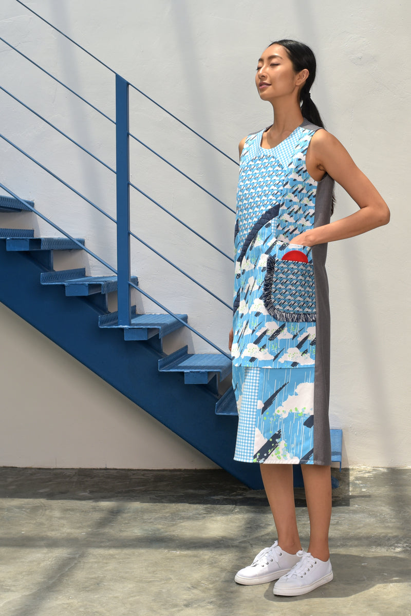S15 DD08 || SUNNY DAY MIDI DRESS