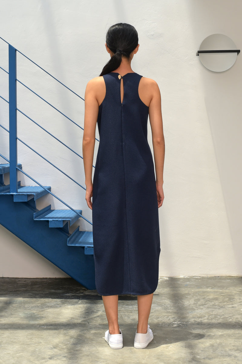 S15 DD11 || MIDNIGHT MIDI DRESS